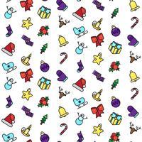 Frohe Weihnachten-Muster