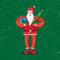 Jul jultomten vektor