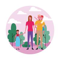 Familiengruppen-Avatar