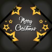 merry christmas stjärnor affisch dekoration