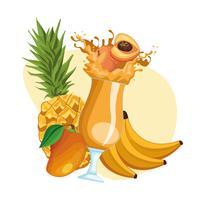 Smoothies mit Früchten