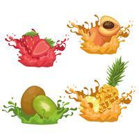 smoothies med frukt