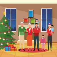 God jul i familjen
