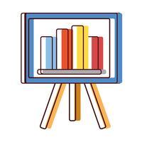 strategi presentation med statistik grafisk fält