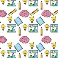 Schulwerkzeug Bildung Backgroun Design