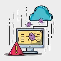 dator med virus i systeminformationen