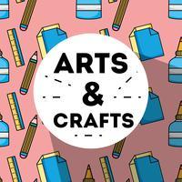 konst och hantverk kreativ objektdesign