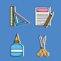 Setze kreative Kunst- und Handwerksobjekte
