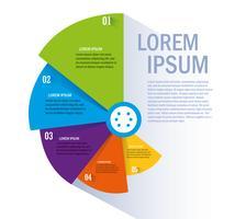 Isolerat arbetsflöde och infographic design