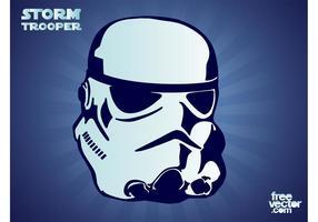 Stormtrooper-Vektor vektor