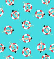 Schwimmringe Muster