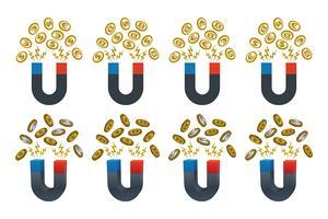 Magneter med valutor