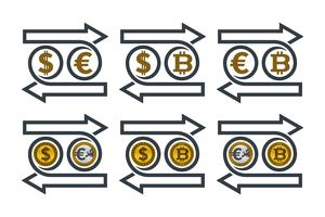 Utbyta valutasymboler