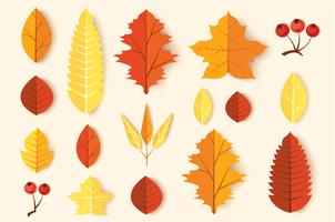 Herbstlaub eingestellt