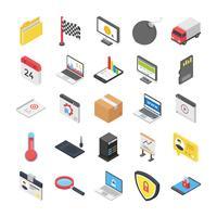 Sicherheits- und Web Icons Pack