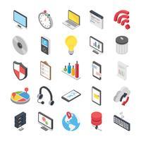Web-Objekte Icons Set
