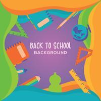Zurück zu Schulhintergrunddesign