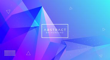 Modern abstrakt polygonal bakgrund