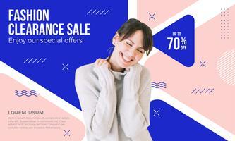 godkännande försäljning banner design