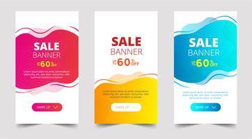 Försäljning banner mall