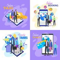 Familienreisen Ticket online kaufen Taxi Hotelbuchung