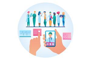 Online-Konsultation Arzt