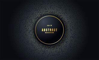 Realistischer schwarzer abstrakter Hintergrund vektor