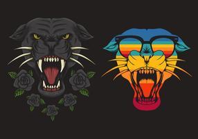 Retro Panther gesetzt