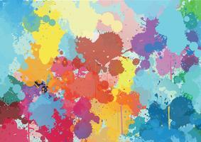 Farbspritzmuster