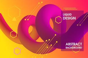 Farbverlauf Hintergrunddesign vektor