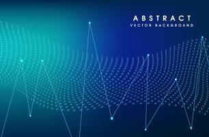 Vektor-Illustration blaue Farbe Hintergrund