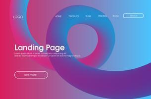Webbplatsens målsida bakgrund