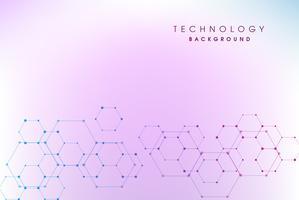Abstrakt högteknologisk bakgrund