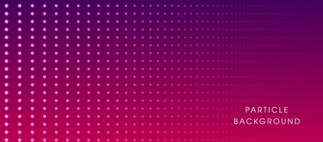 Flüssiger dynamischer Hintergrund der glühenden Partikel vektor