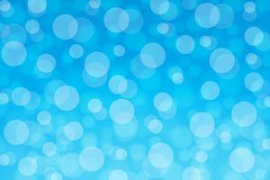 Blaue Hintergrundabstufung Bokeh-Kreises