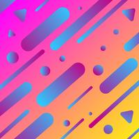 Färgglad geometrisk bakgrund