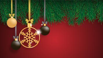 Bakgrund för god jul vektor