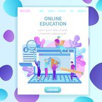 Utbildning av studenter online
