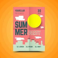 Sommer-Block-Party-Plakat