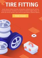 Reifenmontage-Poster