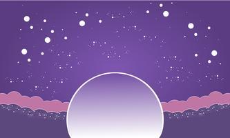 Galaxy Papier schneiden Hintergrund vektor