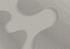 Wellenförmige geometrische Punktmusterbeschaffenheit in der Halbtonart vektor