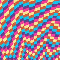 Bunter Muster-Hintergrund vektor