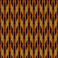 Höstkamouflage stickat mönster