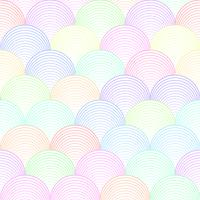 Färg våg sömlösa mönster vektor