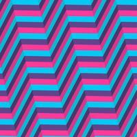 Blauer und purpurroter Hintergrund der optischen Täuschung