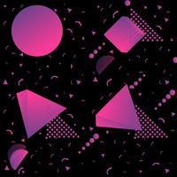 Steigung lila Form Hintergrund vektor
