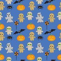 Halloween sömlösa mönster