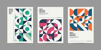 Zeitschriftenlayout Designs vektor