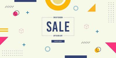 Memphis Sale Hintergrund vektor
